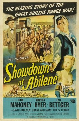 Showdown at Abilene movie poster (1956) poster MOV_208639e9