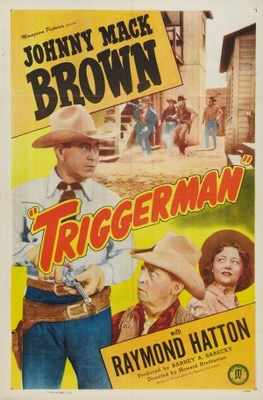 Triggerman movie poster (1948) poster MOV_208d585f