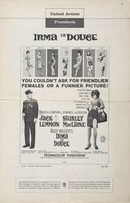 Irma la Douce movie poster (1963) poster MOV_208db956
