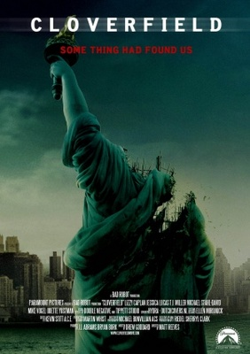 Cloverfield movie poster (2008) poster MOV_208f84f9