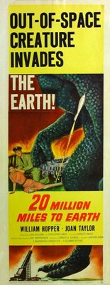 20 Million Miles to Earth movie poster (1957) poster MOV_20a30f13