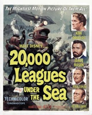20000 Leagues Under the Sea movie poster (1954) poster MOV_20a44774