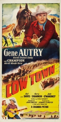 Cow Town movie poster (1950) poster MOV_20aaee20