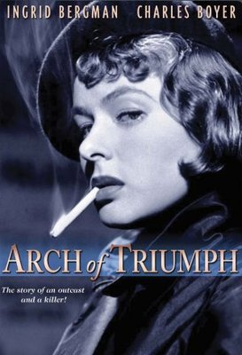 Arch of Triumph movie poster (1948) poster MOV_20bccfdd