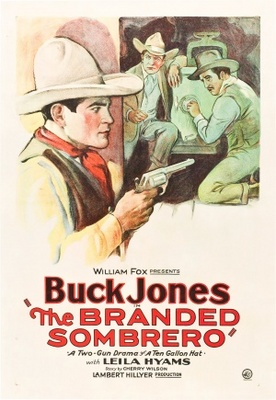 The Branded Sombrero movie poster (1928) poster MOV_20bf6c70