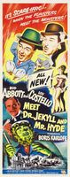 Abbott and Costello Meet Dr. Jekyll and Mr. Hyde movie poster (1953) picture MOV_20ce4c92