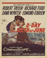 D-Day the Sixth of June movie poster (1956) picture MOV_20d51326