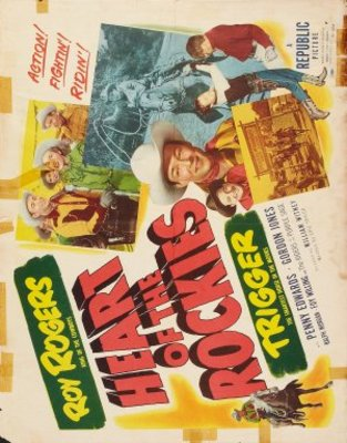 Heart of the Rockies movie poster (1951) poster MOV_20e0a708