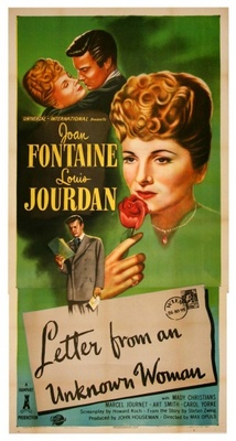 Letter from an Unknown Woman movie poster (1948) poster MOV_20ffa512