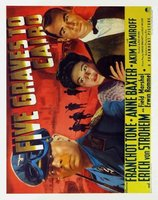 Five Graves to Cairo movie poster (1943) picture MOV_2103f743