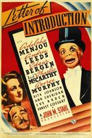 Letter of Introduction movie poster (1938) picture MOV_2106eb9b