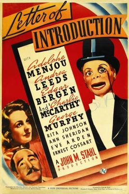 Letter of Introduction movie poster (1938) poster MOV_2106eb9b