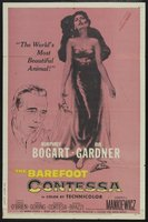 The Barefoot Contessa movie poster (1954) picture MOV_210b3079