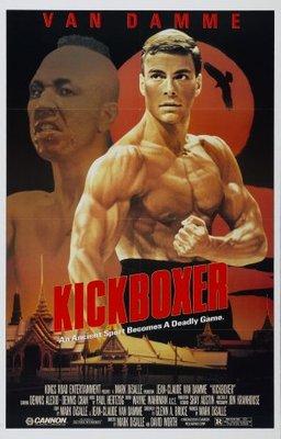 Kickboxer movie poster (1989) poster MOV_211d40f0