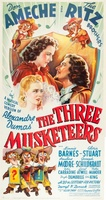 The Three Musketeers movie poster (1939) picture MOV_2120148a