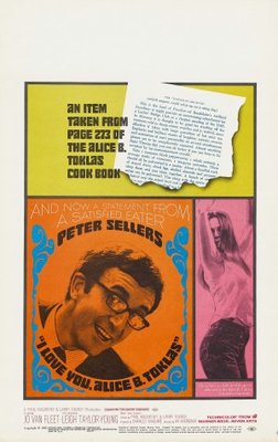 I Love You, Alice B. Toklas! movie poster (1968) poster MOV_21224bf0