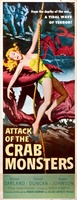 Attack of the Crab Monsters movie poster (1957) picture MOV_21224f2f