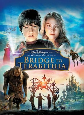 Terabithia movie posters 2007 → bridge to terabithia movie poster