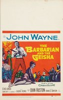 The Barbarian and the Geisha movie poster (1958) picture MOV_21372bc9