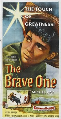 The Brave One movie poster (1957) poster MOV_213ae154