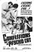 Confessions of a Psycho Cat movie poster (1968) picture MOV_21400dcc