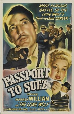 Passport to Suez movie poster (1943) poster MOV_21542517