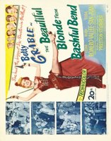 The Beautiful Blonde from Bashful Bend movie poster (1949) picture MOV_21576ef1