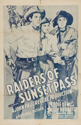 Raiders of Sunset Pass movie poster (1943) poster MOV_2165c25f