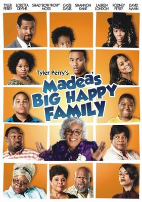 Madea's Big Happy Family movie poster (2011) poster MOV_216ec59c