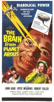 The Brain from Planet Arous movie poster (1957) picture MOV_21768ee8