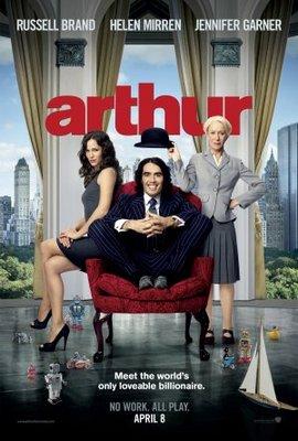 Arthur movie poster (2011) poster MOV_21924bdc
