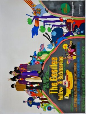 Yellow Submarine movie poster (1968) poster MOV_2194d316