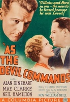As the Devil Commands movie poster (1933) picture MOV_2198a18a