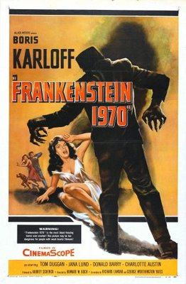 Frankenstein - 1970 movie poster (1958) poster MOV_21a2d90c