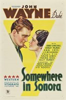 Somewhere in Sonora movie poster (1933) picture MOV_21b4f49b
