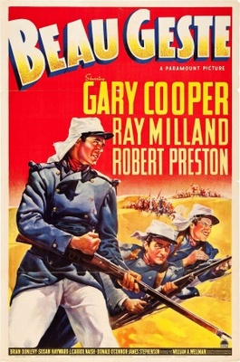 Beau Geste movie poster (1939) poster MOV_21c6dcbb