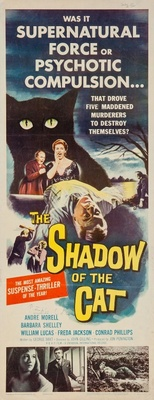 Shadow of the Cat movie poster (1961) poster MOV_21ccf673