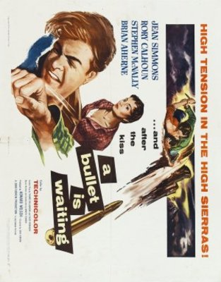 A Bullet Is Waiting movie poster (1954) poster MOV_21dc2af1