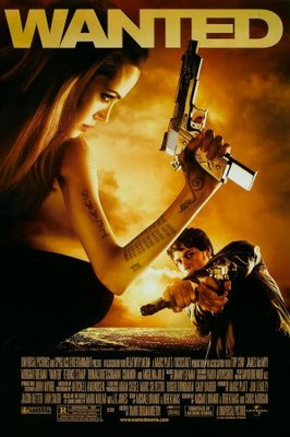 Wanted movie poster (2008) poster MOV_21ddbd5d