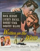 Written on the Wind movie poster (1956) picture MOV_21e0b469