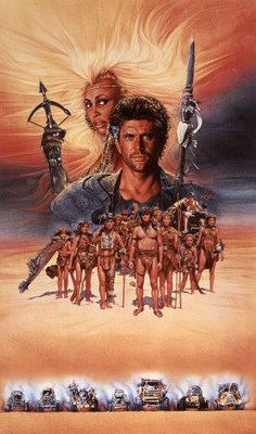 Mad Max Beyond Thunderdome movie poster (1985) poster MOV_21f90aeb