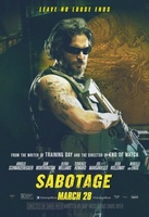 Sabotage movie poster (2014) picture MOV_22041cc3