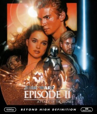 Star Wars: Episode II - Attack of the Clones movie poster (2002) poster MOV_220a146e