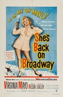 She's Back on Broadway movie poster (1953) picture MOV_222ca625