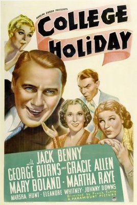 College Holiday movie poster (1936) poster MOV_224a317c