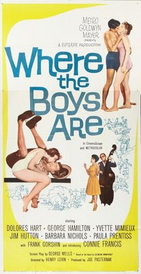 Where the Boys Are movie poster (1960) poster MOV_2257b823