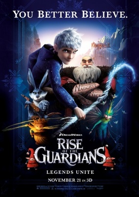 Rise of the Guardians movie poster (2012) poster MOV_2296a817