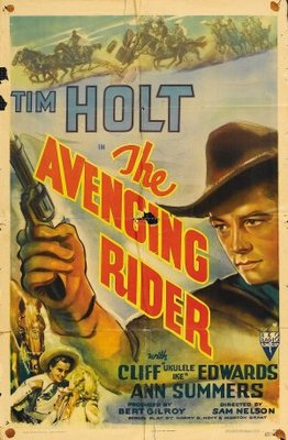 The Avenging Rider movie poster (1943) poster MOV_22a74f15