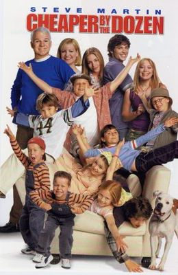 Cheaper by the Dozen movie poster (2003) poster MOV_22bab2d6