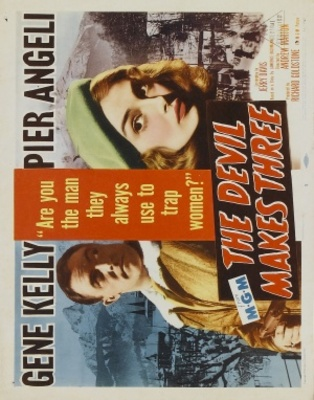 The Devil Makes Three movie poster (1952) poster MOV_22bdf4a4